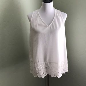 Old Navy Lace Extender Tank Sz Small